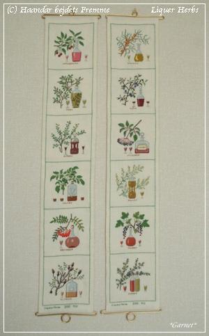 Liqueur herbs 完成