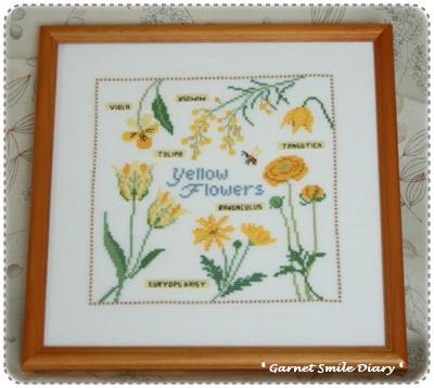 黄色い花を集めて